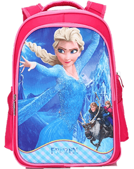 Frozen 14 inches backpack for girls