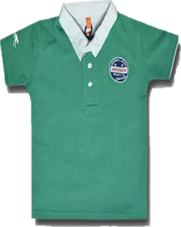 Boy's Polo Shirt -Green